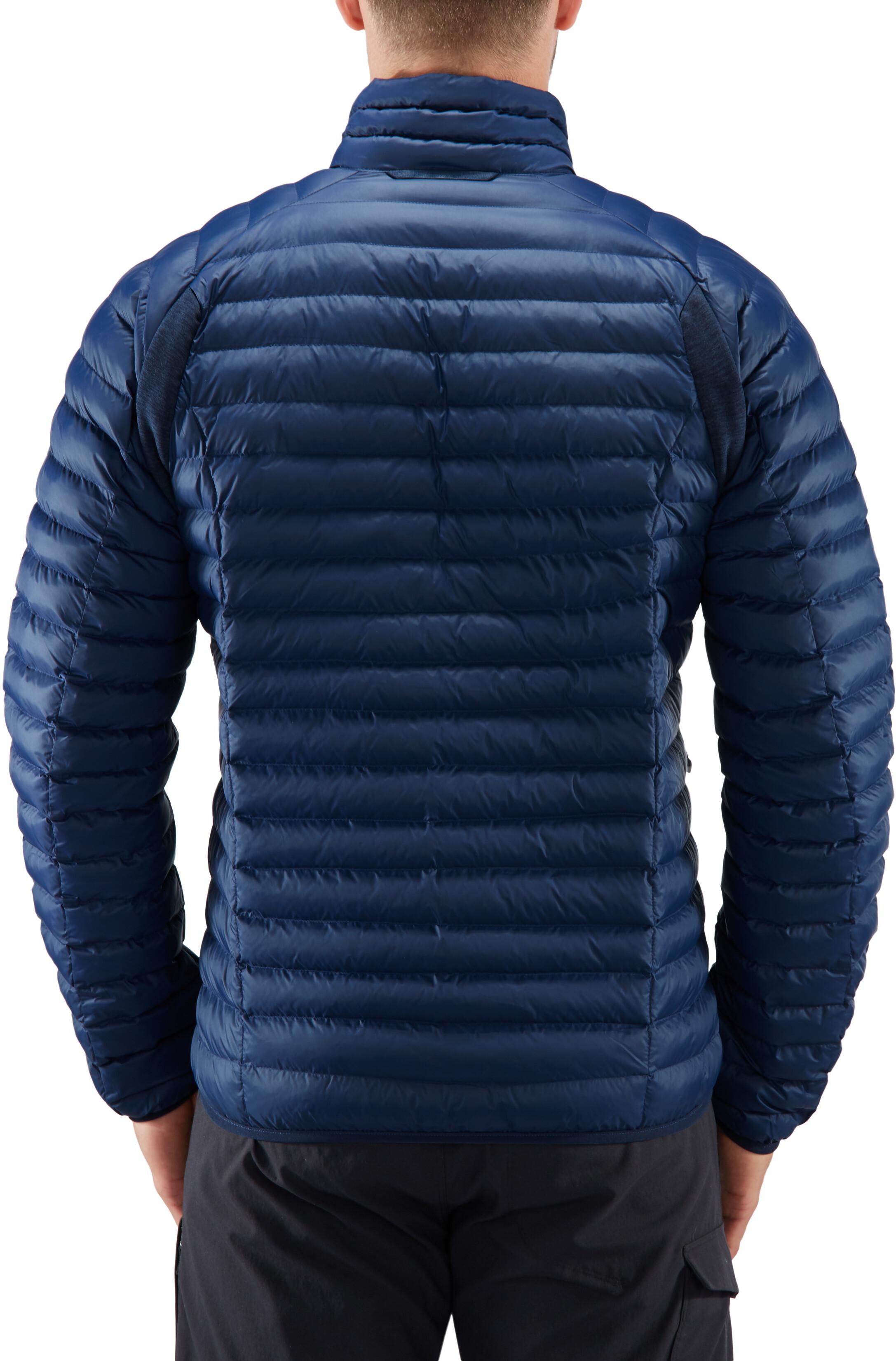 4a6491524d3 Haglöfs Essens Mimic Hood Jacket Men tarn blue at Addnature.co.uk